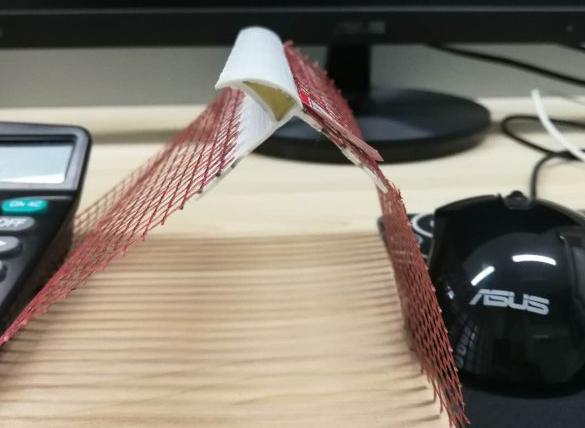 PVC带网鹰嘴滴水