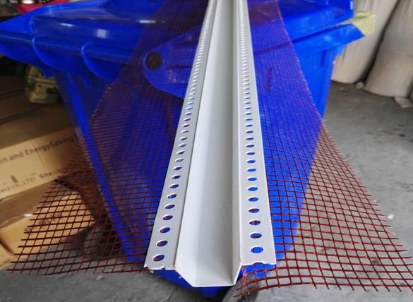 PVC带网滴水U型槽