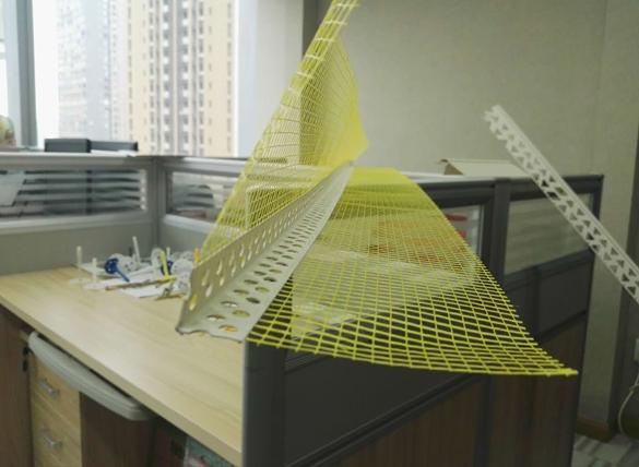 PVC玻纤保温护角网