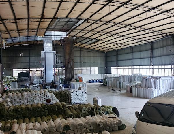重庆网格布厂家设备及生产环境